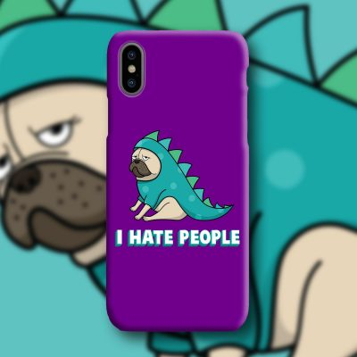 Hate People Mobile Phone Case