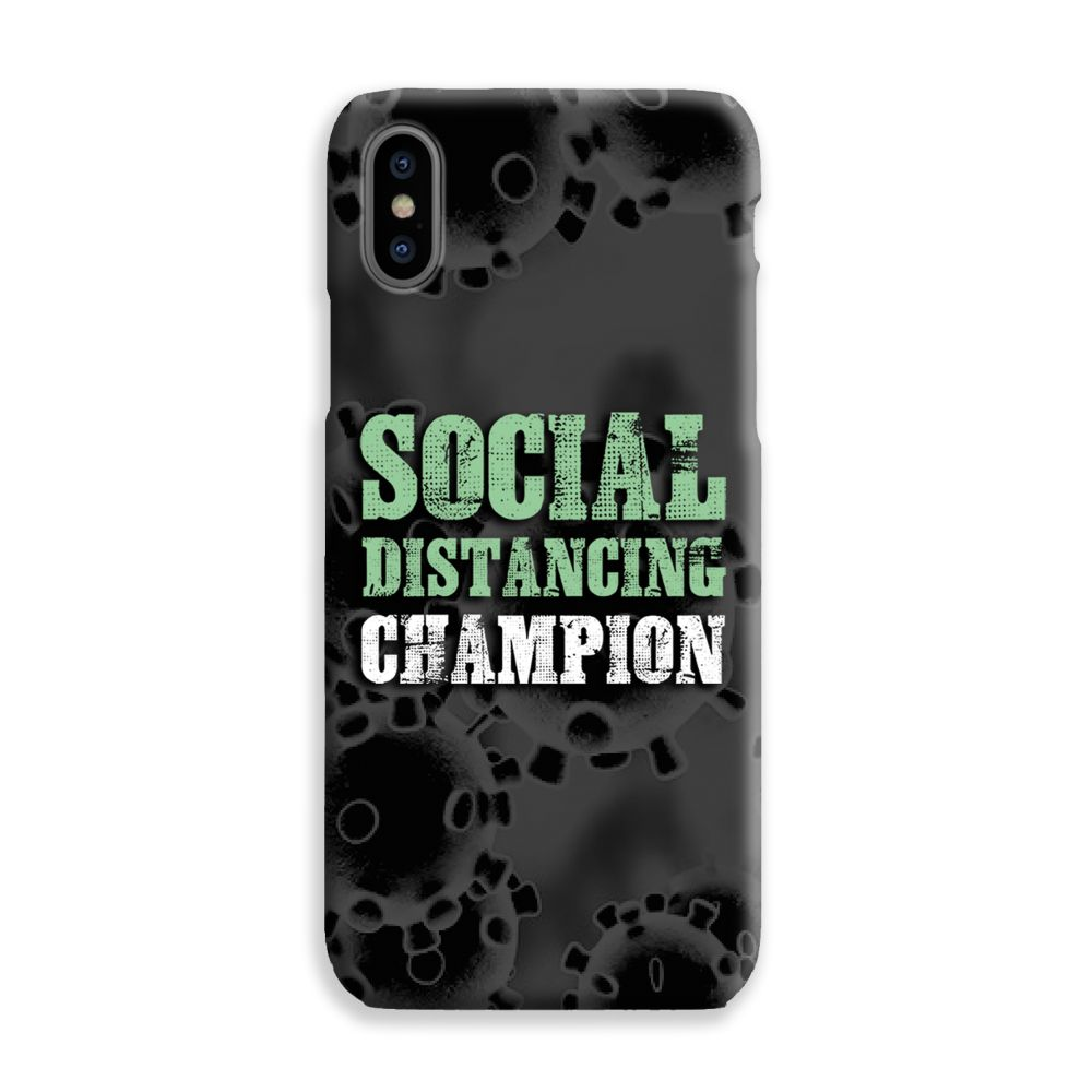 Social Distancing Champion Mobile Phone Case