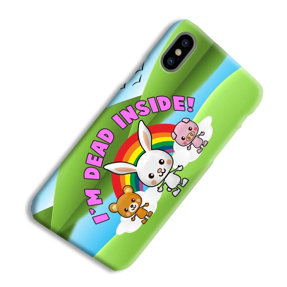 Dead Inside Mobile Phone Case - 3D Slim Gloss, Samsung Galaxy S10e, Horizontal