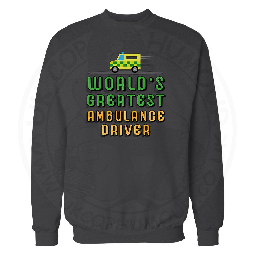 World Greatest Ambulance Driver Sweatshirt - Black, 3XL