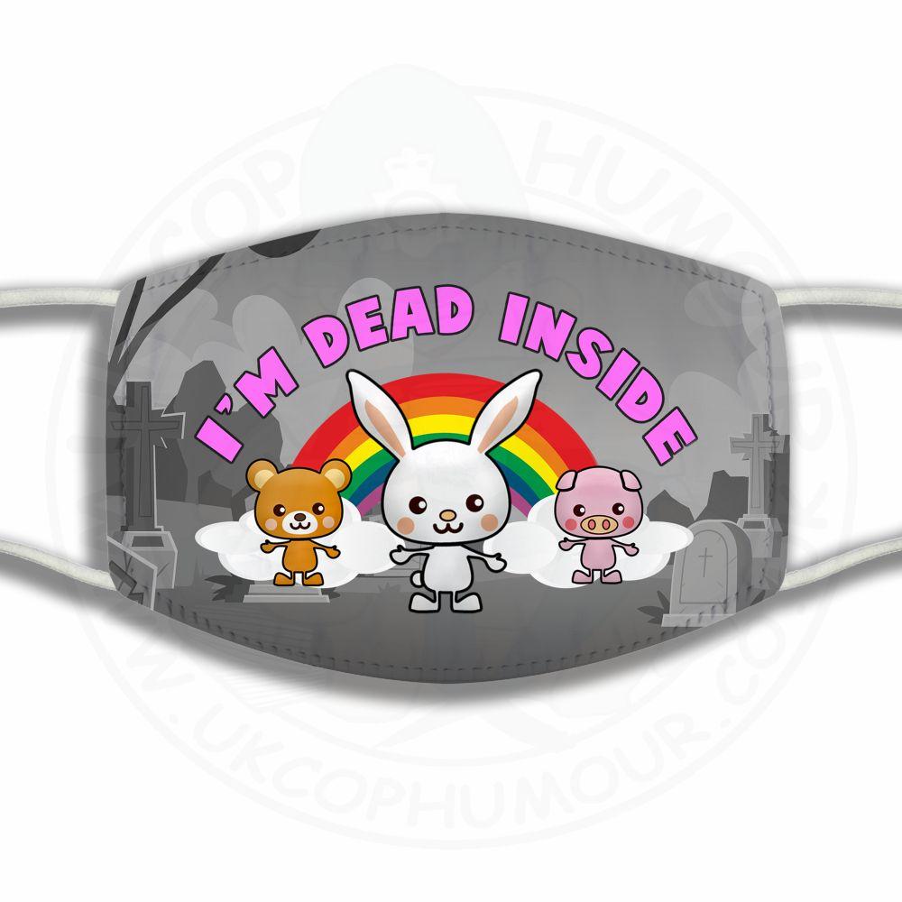 Dead Inside Face Cover