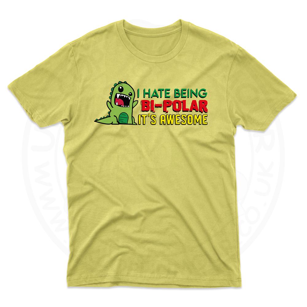 Mens Bi-Polar T-Shirt - Daisy, 2XL