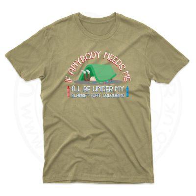 Mens BLANKET FORT T-Shirt