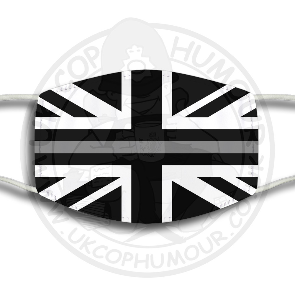 THIN GREY LINE Face Cover